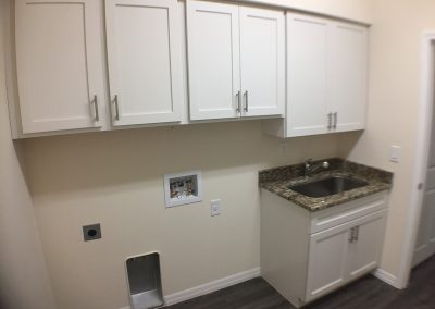 Upgraded Laundry Room